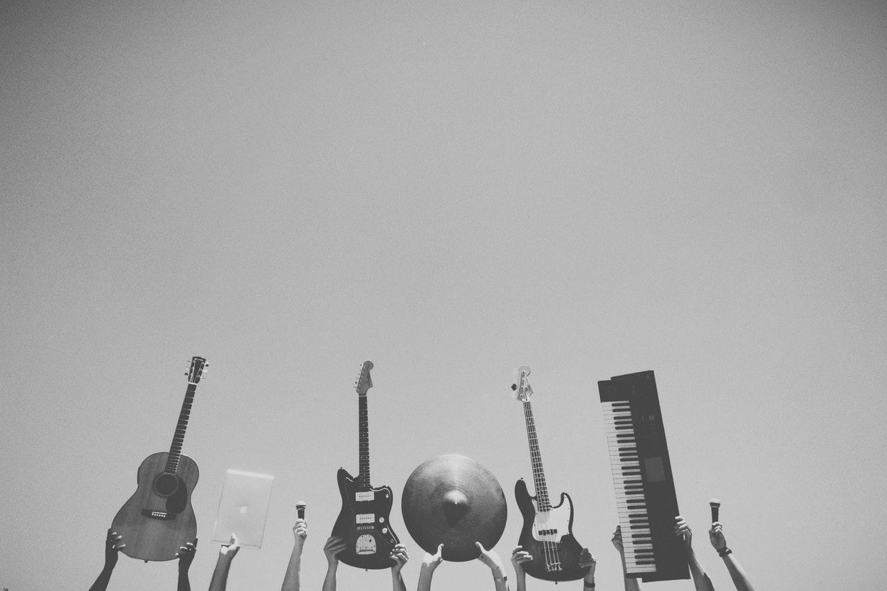 Banjo, gitarr eller fiol