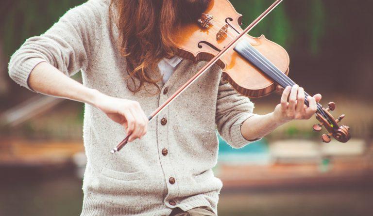 Fiol hörs i bluegrass